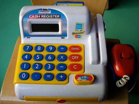 Cash Register. Creative Commons Tony Hall