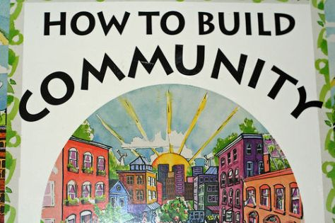 How to build a community. Creative Commons Niall Kennedy