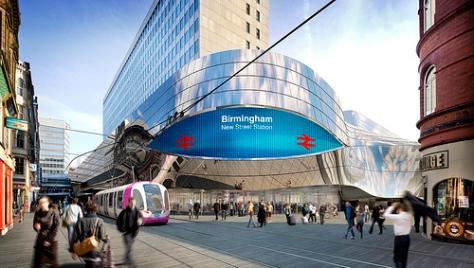 Stephenson St Tram. Creative Commons BirminghamNewsRoom