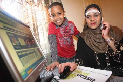 Aston Mom Warda Mohammed C/O Digital Birmingham
