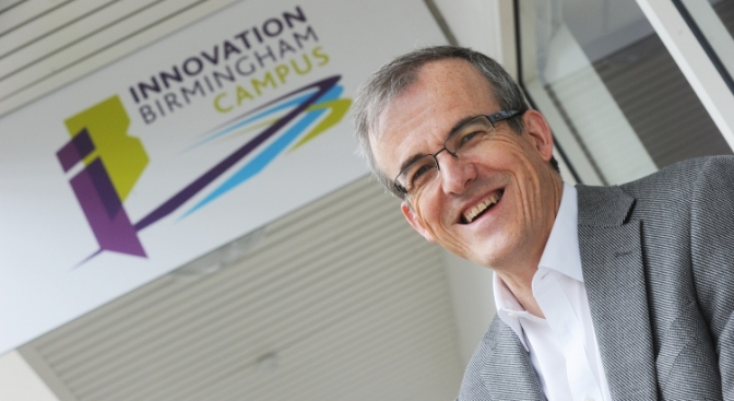Dr David Hardman, Innovation Birmingham - smart city