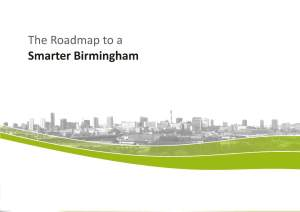 Birmingham Smart City Roadmap