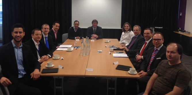 Visit by Sir Jon Cunliffe, Bank of England Deputy Governor