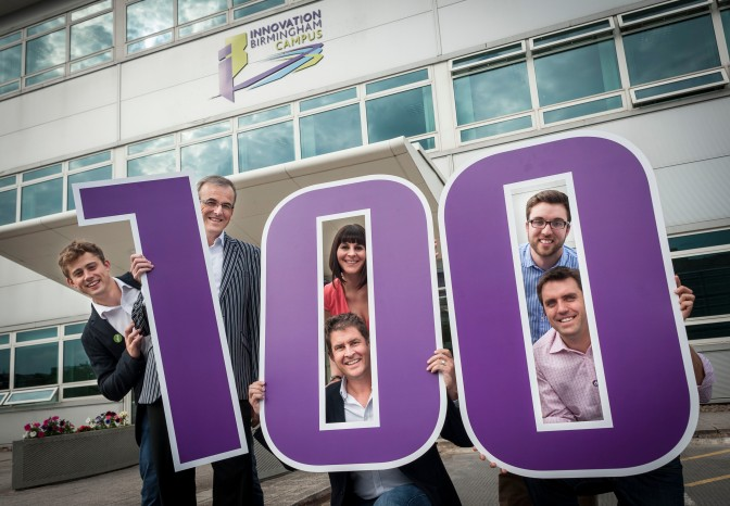 Innovation Birmingham celebrates 100 tech start-ups
