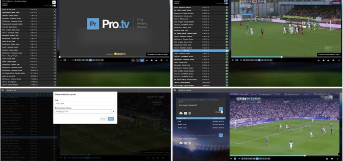 Scout7 Kick-Off 2015/6 Football Season With Pro.tv Video Content Analysis App