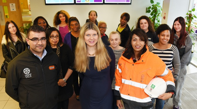 PRESS RELEASE: Women into Construction programme delivered at the Innovation Birmingham Campus